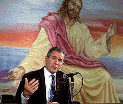 Jesus & Bush