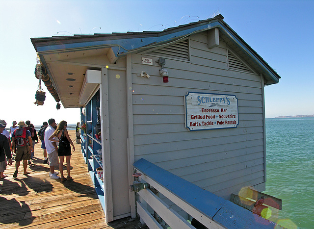 Schleppy's on San Clemente Pier (7048)