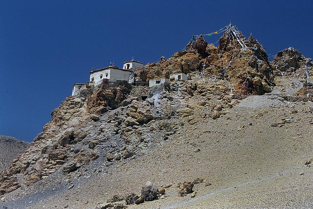 Chiu Gompa (4570m) beside Manasarovar lake