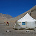 A tent for a rest during the Kora