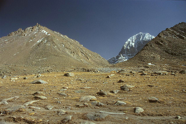 The summit of the Holy Kailash