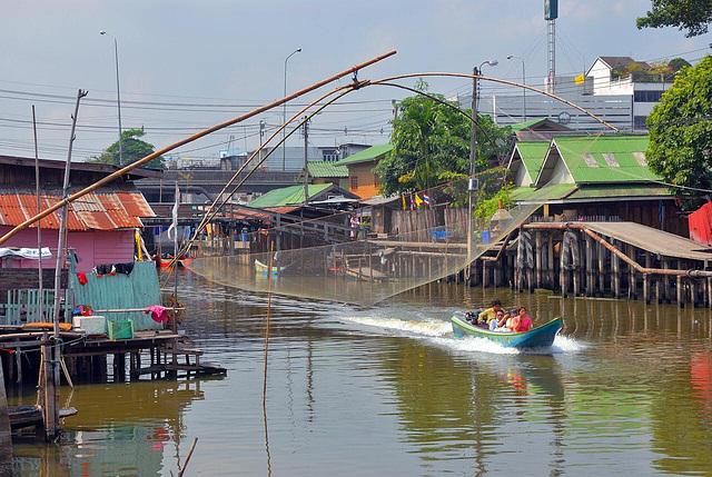 Khlong Sam Wa in Min Buri