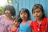 Four young inhabitants of Minburi