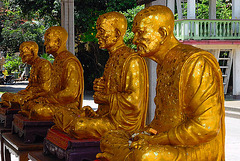 Statues from four high dignitaries