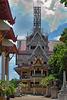 A temple under contruction