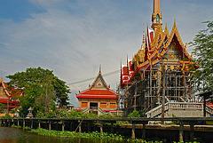 Small Temple Saensuk along the Khlong