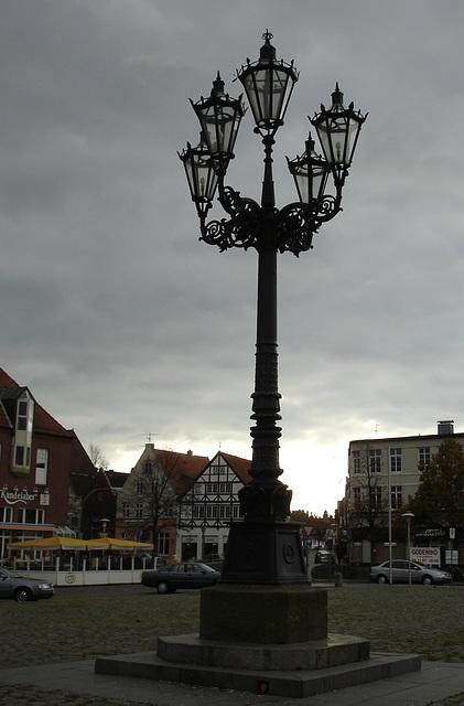 Kandelaber in Glückstadt