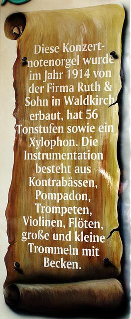 Orgelbeschreibung