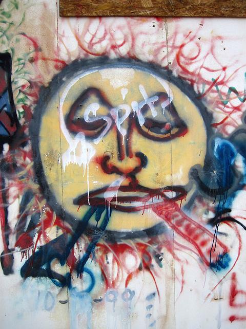 Graffiti Near Desert Center (4322)