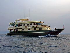 Black Manta our cruising boat