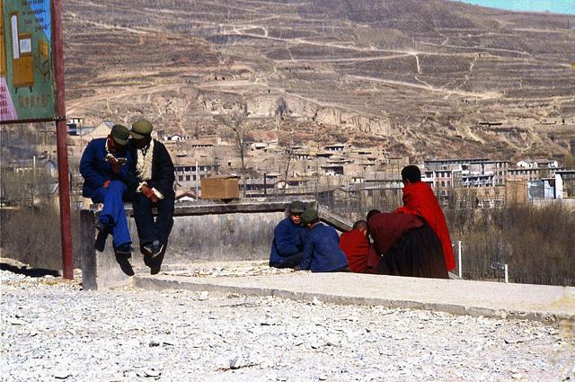Timeless China - oh, peaceful youthfulness days (Qinghai, 1985)