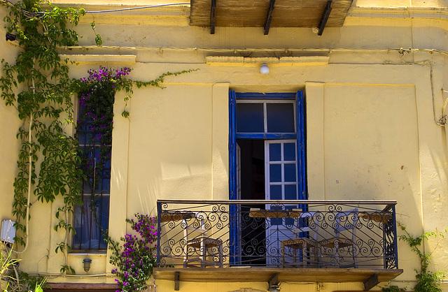 living balcony