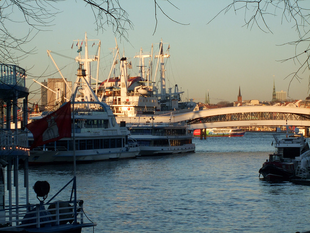 Elbe @ Hamburg / DSCF1523