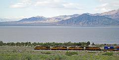 Train at Mecca Beach (0241)