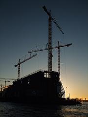 """ELBPHILHARMONIE im Bau, Hamburg - Platz 37 beim Fotowettbewerb """"Metropolregion Hamburg"""" im Frühjahr 2009 !!! / DSCF1527"""