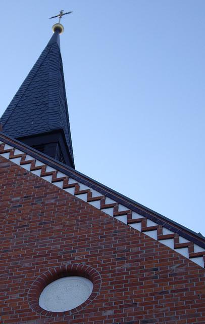 Firstdekoration / decoration with bricks