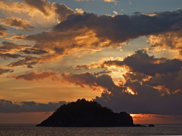 Sunset at the Mergui Archipelago