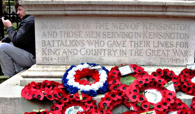 In memory of the men of Kensington...
