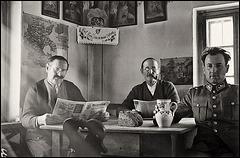 3 men at home - 1939