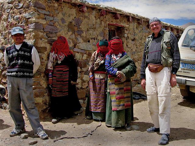 Young Tibetian girls