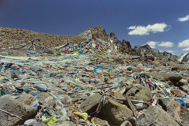Drolma La (5.665 m) at the Kailash Kora