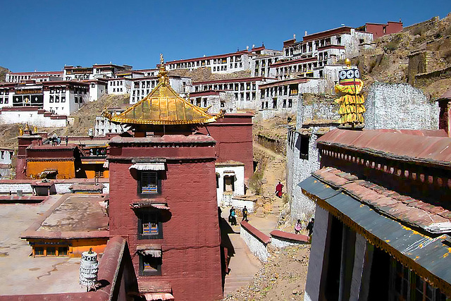 Ganden Monastery 55 km outside Lhasa