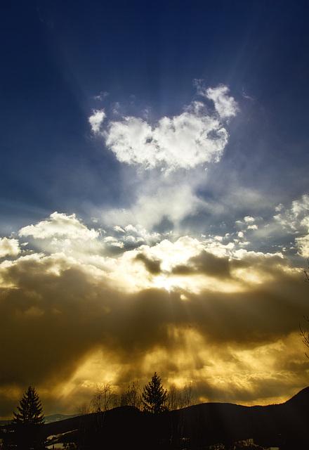 the big bloop in the sky