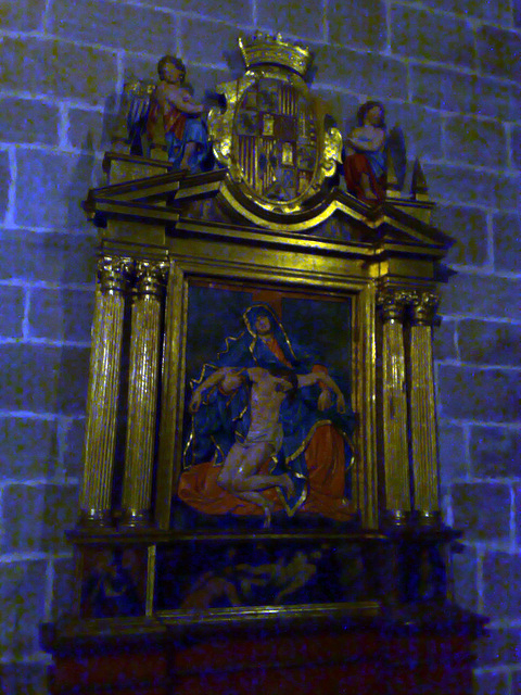 Catedral de Pamplona: capilla.