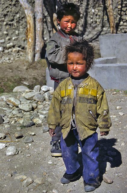 Kiddies in Tsarang