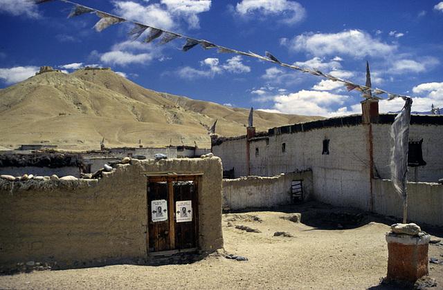 Phuwar village near Mustang city