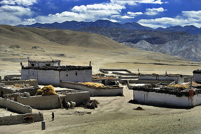 Ketchen village near Mustang city