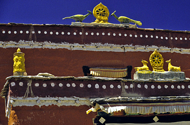 Gable of the Namgyal Gompa