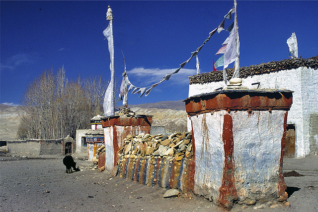 Mani wall in Mustang town