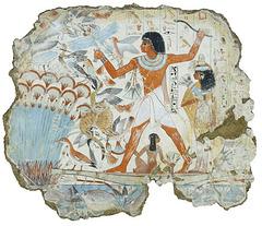 Tombeau de Nebamon : La chasse aux oiseaux
