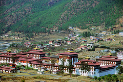 Tashi Choe Dzong and Gouvernment building complex of Bhutan