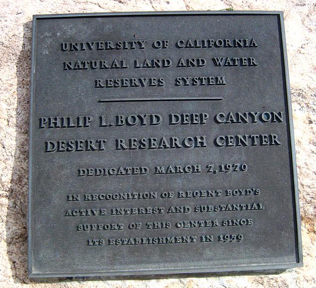 Boyd Deep Canyon (9258)