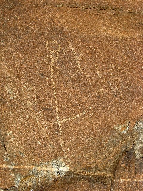 Corn Spring Petroglyph (1237)