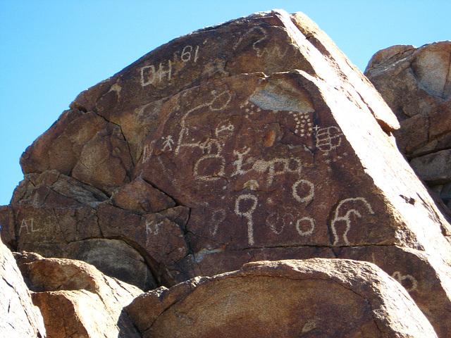 Corn Spring Petroglyph (1253)