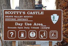 No Gas At Scotty's Castle - Or Is There? (3500)