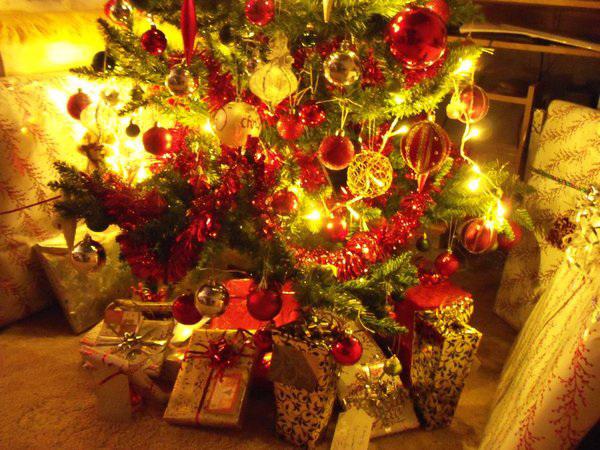 The brilliant Christmas tree