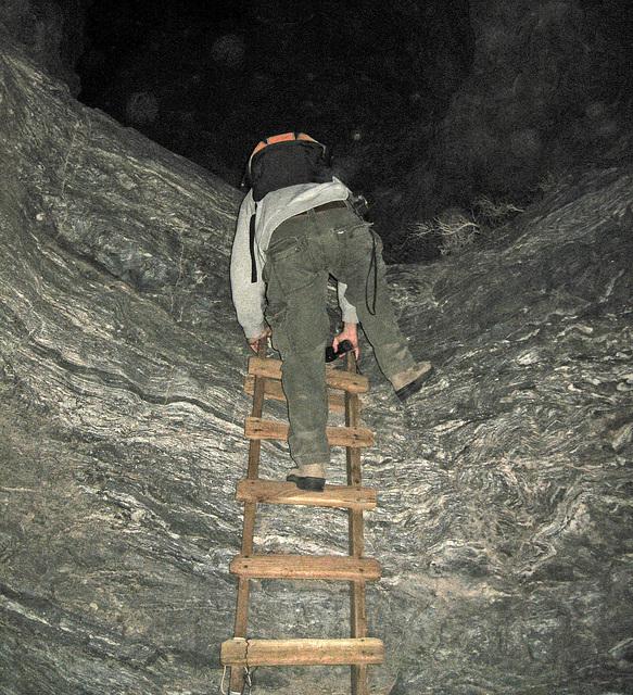 Ladder Canyon at Night (8874)