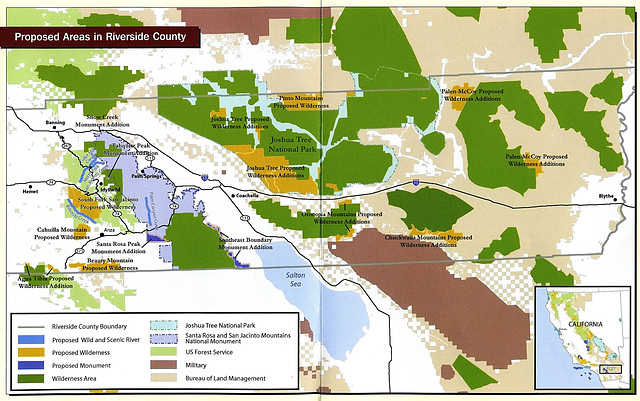 Riverside County Wilderness Areas