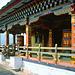 Prayer wheels at the Ta Dzong monastery