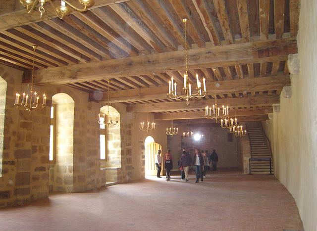 Château de Blandy - La salle de l'auditoire