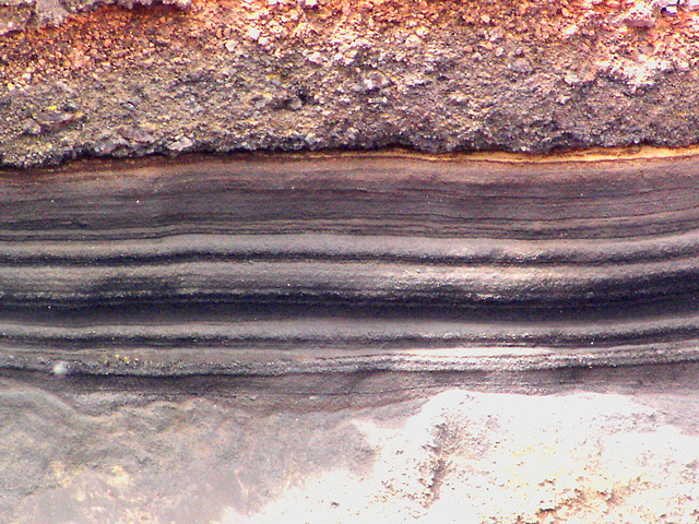 Strates volcaniques