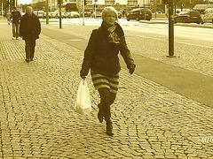 Helsingborg / Sweden -  October 22th 2008 - Sepia