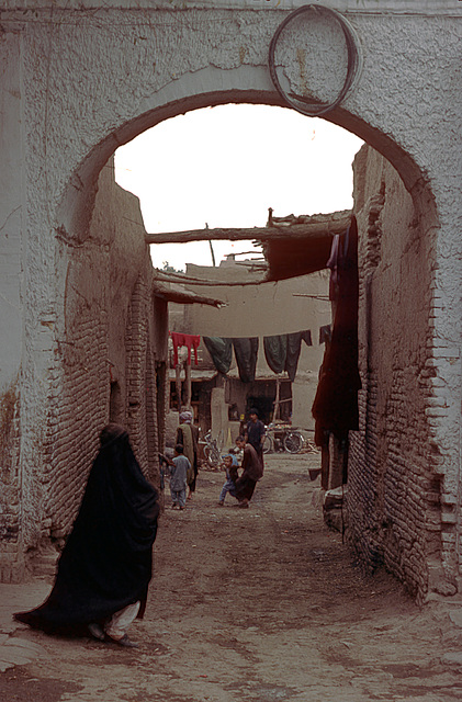 Woman in her Burqa in Herat
