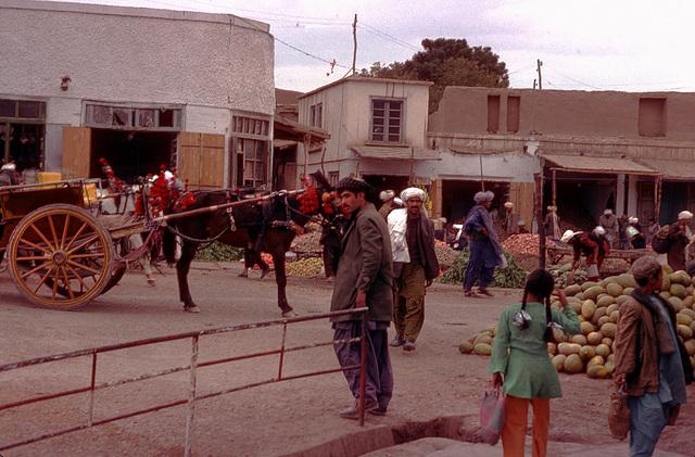 The market in Herat