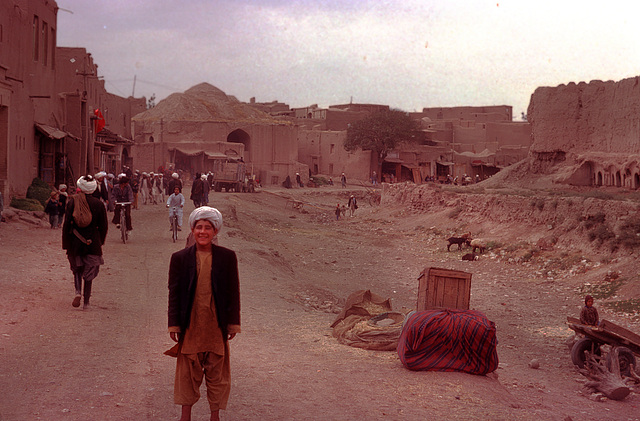 My first contact in Herat