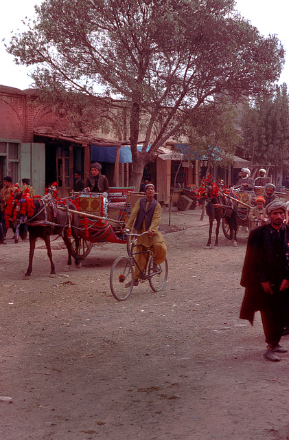 The life on the streets in Herat